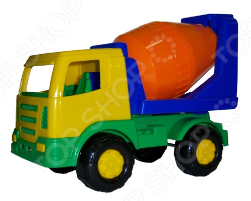 Машинка игрушечная Полесье «Мираж бетоновоз». В ассортименте