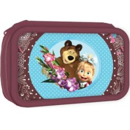 Купить Пенал Маша и Медведь «Бирюза» 22104