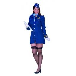 Купить Костюм карнавальный женский Шампания Стюардесса