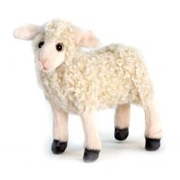 фото Мягкая игрушка для ребенка Hansa «Ягненок»