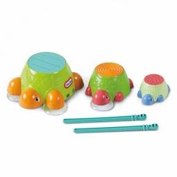 Купить Игра для ванной Little Tikes Черепашки-барабаны
