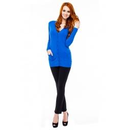 фото Кардиган Mondigo 9706. Цвет: синий. Размер одежды: 44