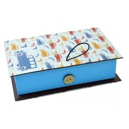 Купить Шкатулка-коробка подарочная Феникс-Презент «Машинки»