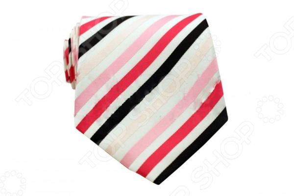 Галстук Mondigo 33660Галстуки. Бабочки. Воротнички<br>Галстук Mondigo 33660 это галстук из высококачественной микрофибры, украшен толстыми диагональными полосками. Он подходит как для повседневной одежды, так и для эксклюзивных костюмов. Подберите галстук в соответствии с остальными деталями одежды и вы будете выглядеть идеально! В современном мире все большее распространение находит классический стиль одежды вне зависимости от типа вашей работы. Даже во время отдыха многие мужчины предпочитают костюм и галстук, нежели джинсы и футболку. Если вы хотите понравится девушке, то удивить ее своим стилем это проверенный метод от голливудских знаменитостей. Для того, чтобы каждый день выглядеть по-новому нет необходимости менять галстуки, можно сменить вариант узла, к примеру завязать:  узким восточным узлом, который подойдет для деловых встреч;  широким узлом Пратт , который прекрасно смотрится как на работе, так и во время отдыха;  оригинальным узлом Онассис , который удивит всех ваших знакомых своей неповторимый формой.<br>