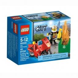 фото Конструктор LEGO Пожарный на мотоцикле