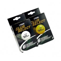 фото Мячи для настольного тенниса Stiga Club Select. Цвет: оранжевый