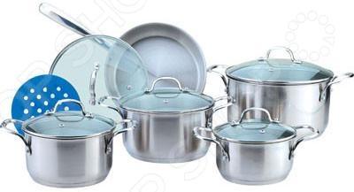 Набор посуды Bekker BK-2870 набор посуды bekker deluxe из 13 ти предметов вк 2862