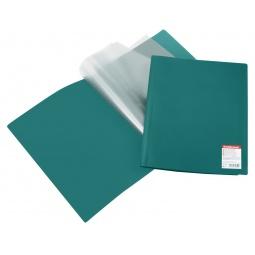 фото Папка с 40 файлами Erich Krause Standard. Цвет: зеленый