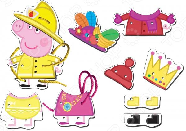 фото Игрушка развивающая Peppa Pig «Шнуровка Пеппа», Другие развивающие игрушки и игры