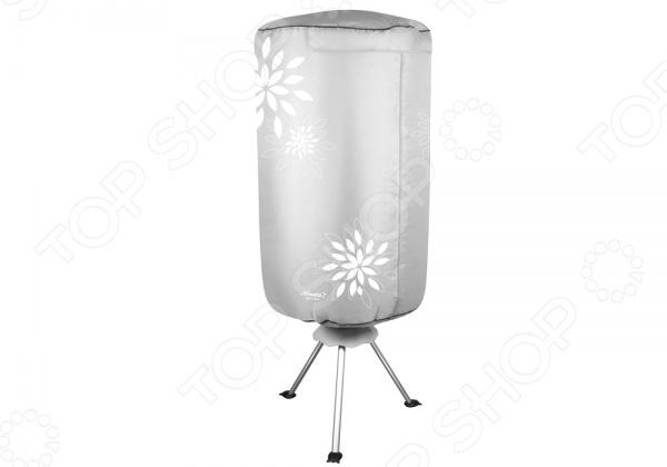 Сушилка для белья электрическая Atlanta ATH-5703 напольная сушилка, которая позволяет значительно сэкономить пространство. Можно установить в комнате, во дворе частного дома, на даче или на балконе. Сушка легко складывается, поэтому в собранном виде занимает мало места, её без труда можно спрятать под кровать или за дверь. В сушилка для белья есть экспресс сушка, которая высушит вещи всего за 2 часа. Преимущества:  Электростатическая эпоксидная порошковая краска.  Удобно складывается для переноски.  Удобная в использовании.  Загрузка до 10 кг.  Легкая разборная конструкция.  Таймер на 180 минут.  Колесики с противооткатным механизмом.