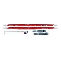 фото Комплект лыжный ATEMI Formula STEP комби. Цвет: серый. Ростовка (длина лыжи): 130 см