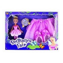 фото Костюм карнавальный с куклой Rinzo 7550098 BrillianceFair с куклой «Балерина»