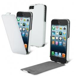 фото Чехол и пленка на экран Muvit Slim Snow для iPhone 5. Цвет: белый