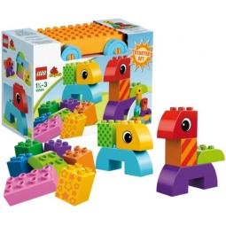 фото Конструктор LEGO Веселая каталка с кубиками