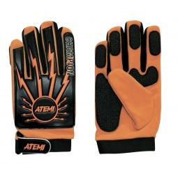 Купить Перчатки футбольные тренировочные ATEMI AFG-02 orange