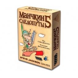 Купить Игра настольная Мир Хобби «Манчкин 5. Следопуты»