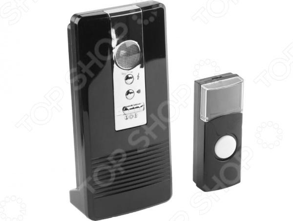 Звонок электрический беспроводной Светозар «Карат» 58074 звонок электрический с кнопкой светозар нота 58037