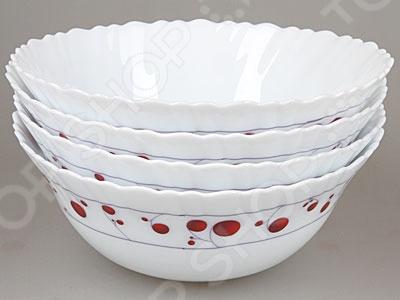 Набор суповых тарелок Rosenberg 1224-496  седугин в призвание рюрика посадник вадим против князя сокола
