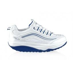 фото Кроссовки Walkmaxx мужские. Цвет: бело-голубой. Размер: 42