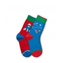 фото Комплект детских носков Teller Gagarin. Цвет: зеленый, синий