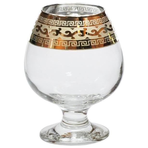 803bd5cc016e Набор бокалов для коньяка Гусь Хрустальный «Версаче» купить по ...
