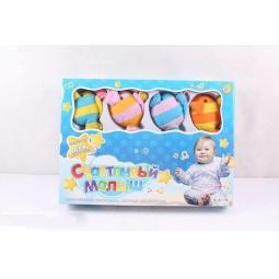 Купить Карусель музыкальная на кроватку Счастливый малыш «Рыбки»