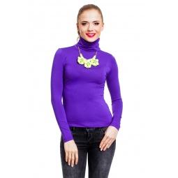 фото Водолазка Mondigo 046. Цвет: фиолетовый. Размер одежды: 42