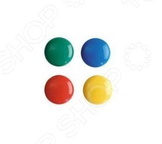 Набор магнитов Erich Krause 22460 - набор ярких магнитов круглой классической формы. Предназначены для фиксации документов, проектов и различных бумаг на металлической доске. С их помощью можно крепить записки к холодильнику. Диаметр каждого магнита - 2 см. В наборе находится 12 штук магнитов разного цвета. Такие яркие магниты будут прекрасным дополнением к канцелярским принадлежностям офиса.