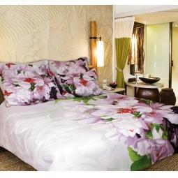 фото Комплект постельного белья Buenas Noches Fleur. Satin Fotoprint. 2-спальный