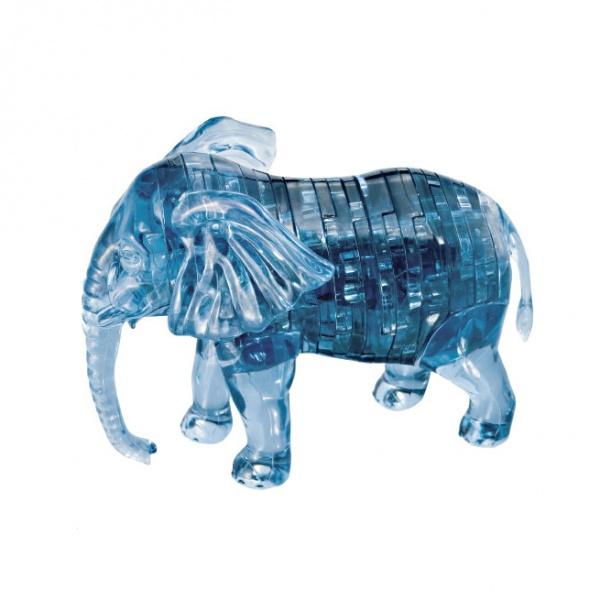 Кристальный пазл 3D Crystal Puzzle «Слон» кристальный пазл 3d crystal puzzle птичка
