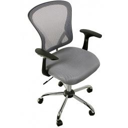 фото Кресло офисное College H-8369F. Цвет: серый, черный