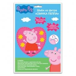 фото Набор для шитья из фетра Росмэн «Свинка Пеппа»