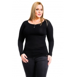 фото Кофта Mondigo XL 8494. Цвет: черный. Размер одежды: 52