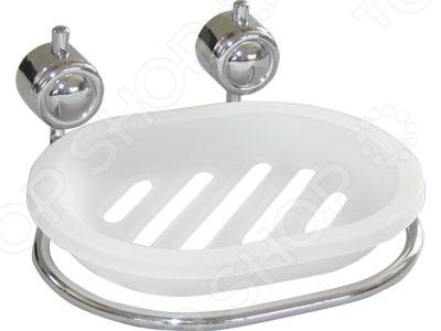 Мыльница Rosenberg 7408Аксессуары для ванной комнаты<br>Мыльница Rosenberg 7408 полезная вещь для ванной комнаты. Мыльницу можно самостоятельно установить на удобную для вас высоту в ванной комнате устанавливать, желательно, на гладкие и чистые поверхности . Модель выполнена из высококачественного металла.<br>