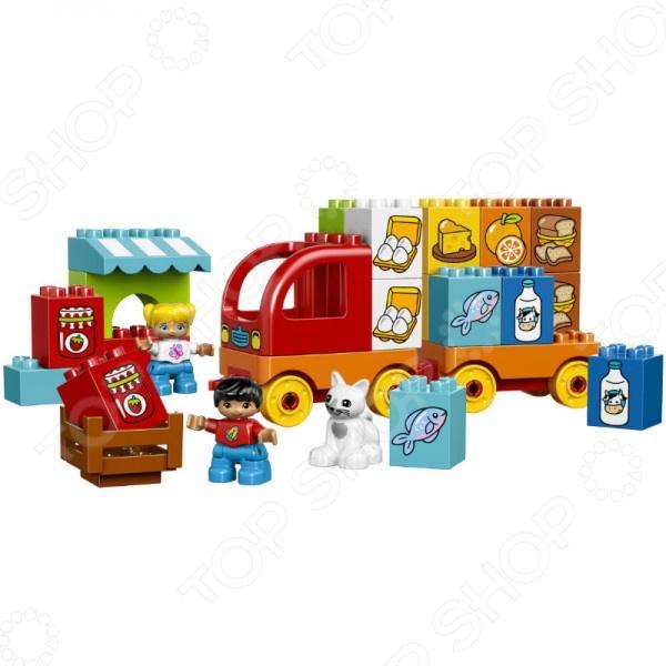 Конструктор игровой LEGO «Мой первый грузовик» игрушка электронная мой первый ноутбук