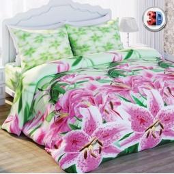 Купить Комплект постельного белья Любимый дом Лилии. 1,5-спальный