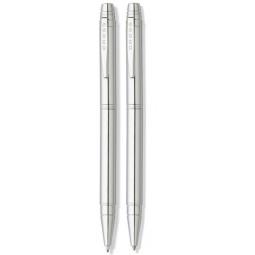 Купить Набор: ручка шариковая и карандаш механический Cross Cross Helios Pure Chrome