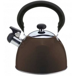 фото Чайник со свистком Катунь КТ-106. Цвет: шоколадный