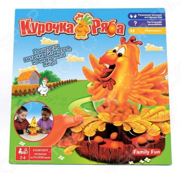 Игра настольная Family Fun «Курочка Ряба» игра настольная family fun курочка ряба