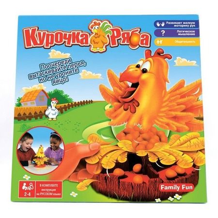 Купить Игра настольная Family Fun «Курочка Ряба»