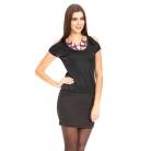Фото Платье Mondigo 8703. Цвет: черный. Размер одежды: 42