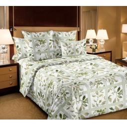 фото Комплект постельного белья Белиссимо «Аделина». 2-спальный. Цвет: зеленый. Размер простыни: 220х195 см