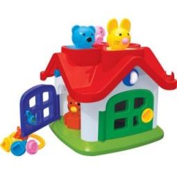 Купить Игрушка-сортер развивающая Полесье «Логический домик. Теремок»
