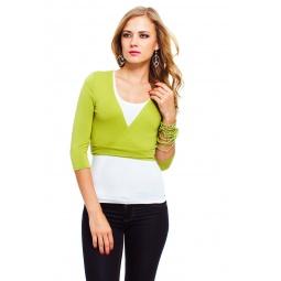 фото Болеро Mondigo 071. Цвет: зеленый. Размер одежды: 42