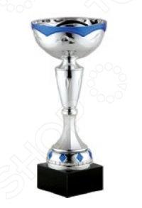 Кубок Start Up 110406BСувенирные кубки<br>Кубок Start Up 110406B небольшой кубок для церемоний награждения. Его можно использовать как трофей для своих работников или подарить сыну после получения определенных достижений. При любом мероприятии, победителю будет невообразимо приятно получить кубок, символ величия и победы. Кубок изготовлен на пластика и металла.<br>