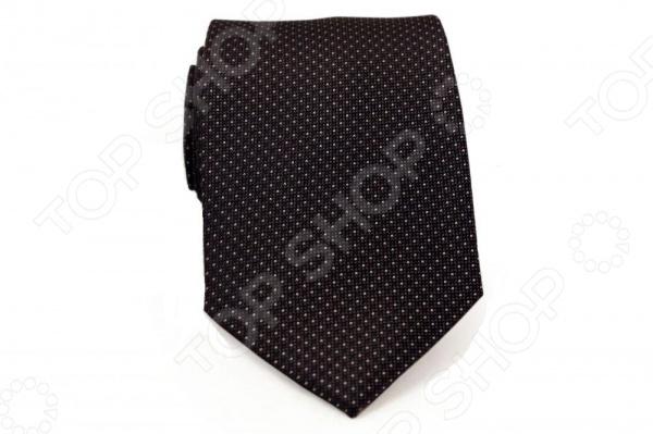 Галстук Mondigo 44759Галстуки. Бабочки. Воротнички<br>Галстук Mondigo 44759 это стильный аксессуар, необходимый для создания элегантного вида. Галстук ручной работы из шелка высокого качества, украшен белыми маленькими точками. С обратной стороны галстук прострочен шелковой ниткой. Края обработаны лазером и практически не видны. Такой галстук дополнит наряд в классическом стиле. Отлично подойдет для официального мероприятия. С этим галстуком вы сможете привлечь взгляды, и обратить на себя должное внимание.<br>