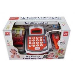 фото Игровой набор для девочки Shantou Gepai «Касса электронная со сканером и набором продуктов»