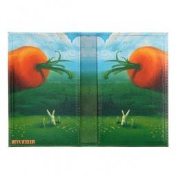 фото Обложка для паспорта двухсторонняя Mitya Veselkov «Заяц и морковка»