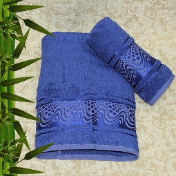 фото Полотенце махровое Mariposa Aqua Bamboo. Цвет: лиловый