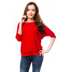 фото Кофта Mondigo 7047. Цвет: красный. Размер одежды: 46